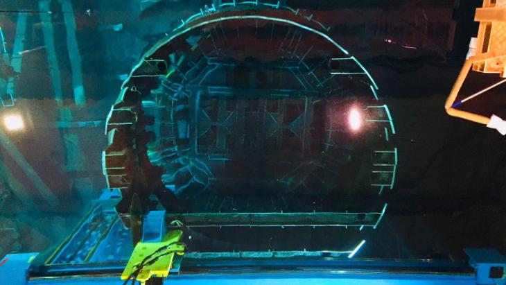jaderná energie - Společnost GEH získala zakázku na rozřezávání vnitřních struktur reaktoru Pilgrim - Zprávy (GEH primary segmentation system GEH) 1