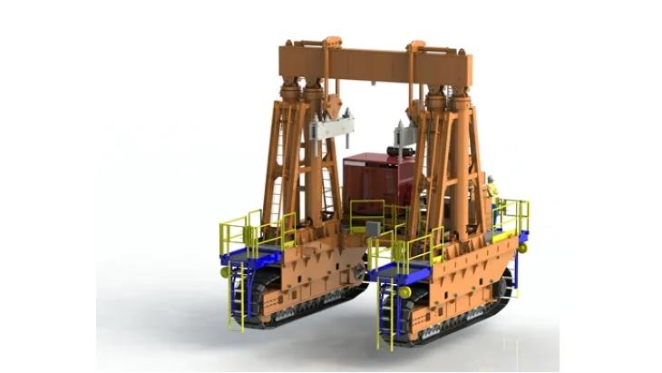 jaderná energie - Společnost Holtec oznámila vývoj nové technologie skladování palivových souborů - Zprávy (Holtec HI TRAN 300 transporter Holtec) 2