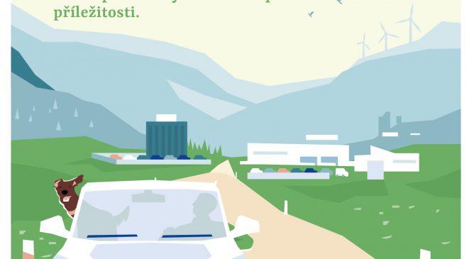 Společnost KHNP, uchazeč o dostavbu jádra v České republice, se představuje veřejnosti ve své reklamní digitální kampani
