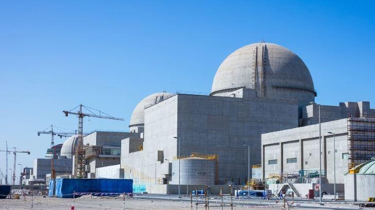 jaderná energie - Jaderná elektrárna Barakah, referenční projekt firmy KHNP, se blíží k získání provozní licence - Zprávy (Barakah 1 4 December 2017 Enec) 1
