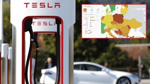 autoforum.cz: Mapa ukazuje, jak velká lež jsou slova o ohledech elektromobilů k přírodě, zvlášť v ČR