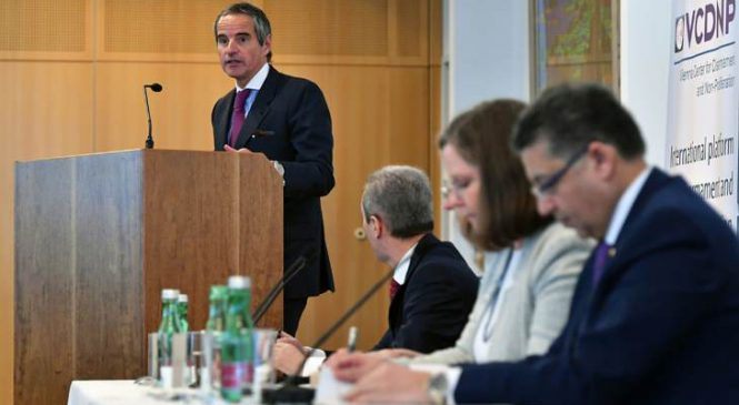 Šéf IAEA zdůrazňuje politické příspěvky v oblasti jaderného zabezpečení