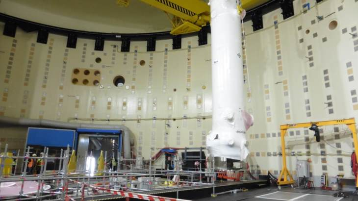 jaderná energie - Tepelné výměníky pro Jules Horowitz jsou na svém místě - Zprávy (Heat exchanger for Jules Horowitz ENSA) 1