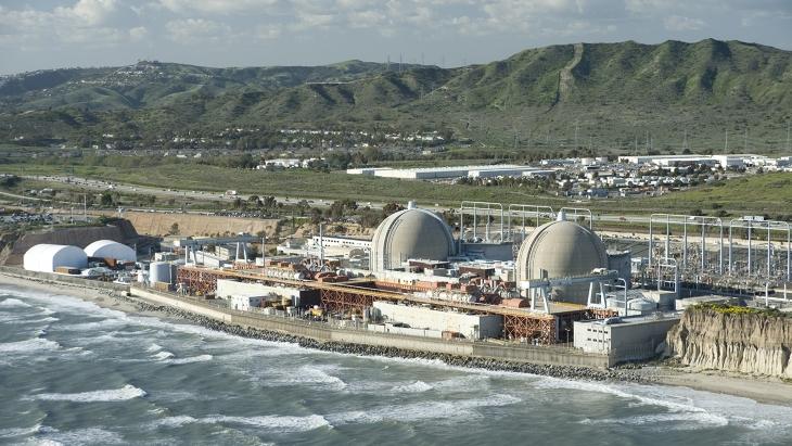 jaderná energie - Rozebírání jaderné elektrárny San Onofre začne již tento měsíc - Zprávy (San Onofre SCE) 1