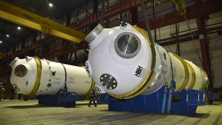 jaderná energie - Společnost ENSA odesílá parogenerátory do Francie - Zprávy (Steam generators shipped to France 10 January 2020 ENSA) 1
