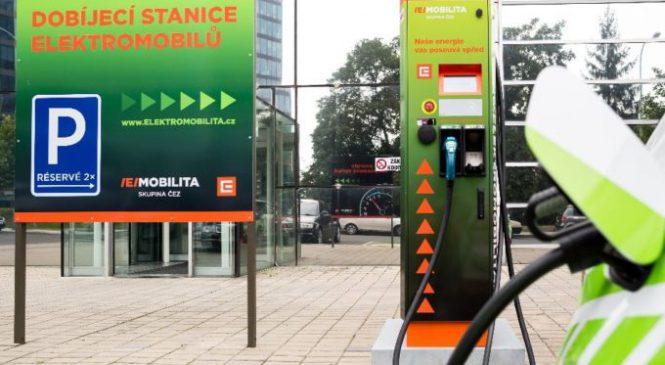 Třebíčský deník: U dukovanské elektrárny lze nyní dobít elektromobil za půl hodiny