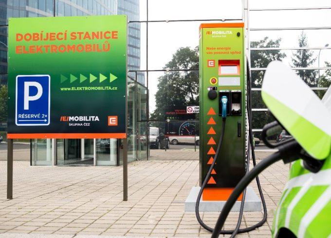 jaderná energie - Třebíčský deník: U dukovanské elektrárny lze nyní dobít elektromobil za půl hodiny - Zprávy (cez dobijeci stanice) 1