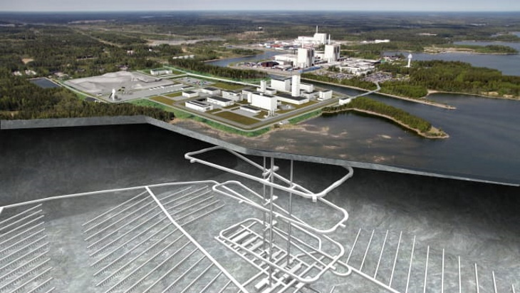 jaderná energie - Společnost Sweco vyhrála zakázku na návrh konečného hlubinného úložiště v lokalitě Forsmark - Zprávy (Forsmark repository and SFR SKB) 1