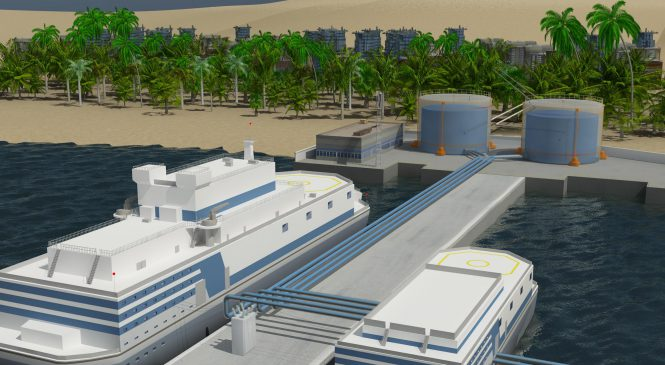 Projekt optimalizované plovoucí jaderné elektrárny bude hotov letos v květnu