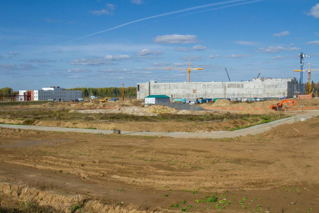 jaderná energie - Rosatom v roce 2020 vynaloží 4 miliardy rublů do projektu reaktoru BREST-300 - Zprávy (Stavební práce v areálu SCHK v roce 2018) 1