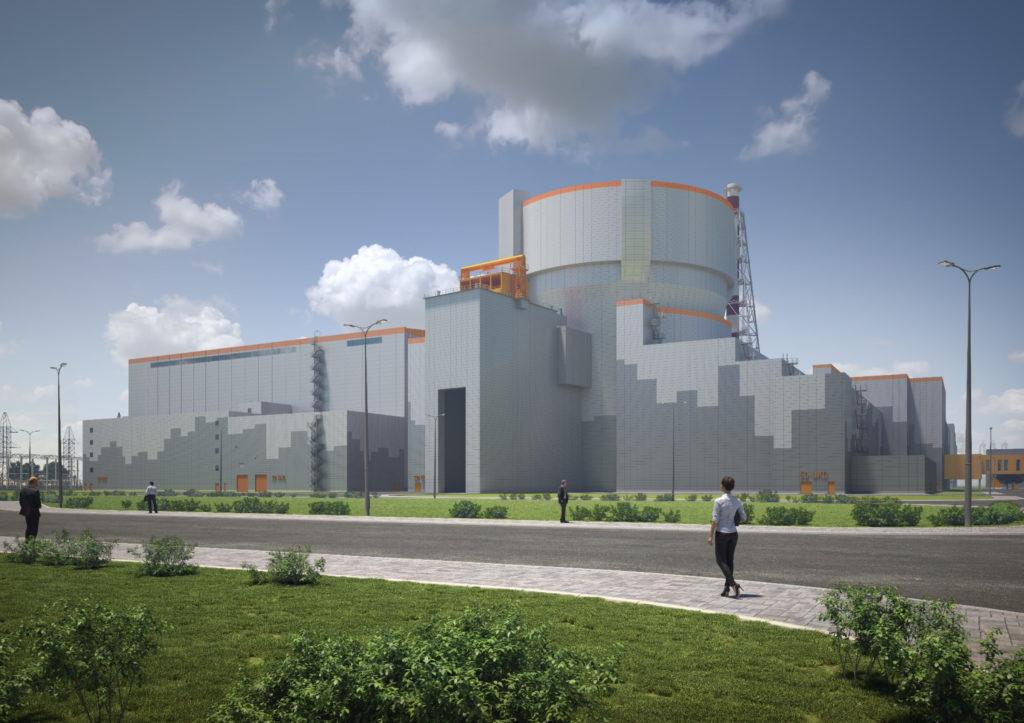jaderná energie - Maďarsko se připravuje na výstavbu Pakse II, opravuje železniční trať - Zprávy (Vizualizace nového bloku typu VVER 1200 v maďarské jaderné elektárrně Paks II zdroj Paks II) 1