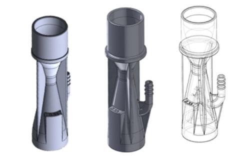 jaderná energie - Rosatom používá 3D tisk k výrobě ventilů pro plicní ventilátory - Zprávy (Ventil Venturi) 1