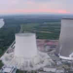 E15.cz:  Energiewende v plném proudu: Podívejte se na odpal chladicích věží jaderné elektrárny Philippsburg