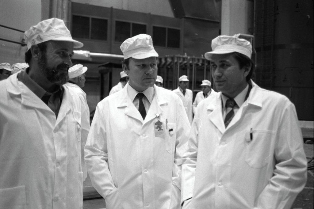 jaderná energie - 65 let: František Hezoučký – Spuštění Dukovan za 28 měsíců byl světový rekord - V Česku (1987 1) 4