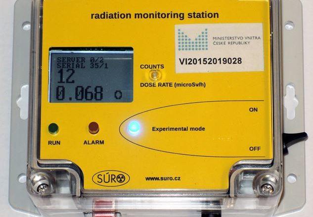 Česká republika má monitorovací systém radiační situace pro veřejnost