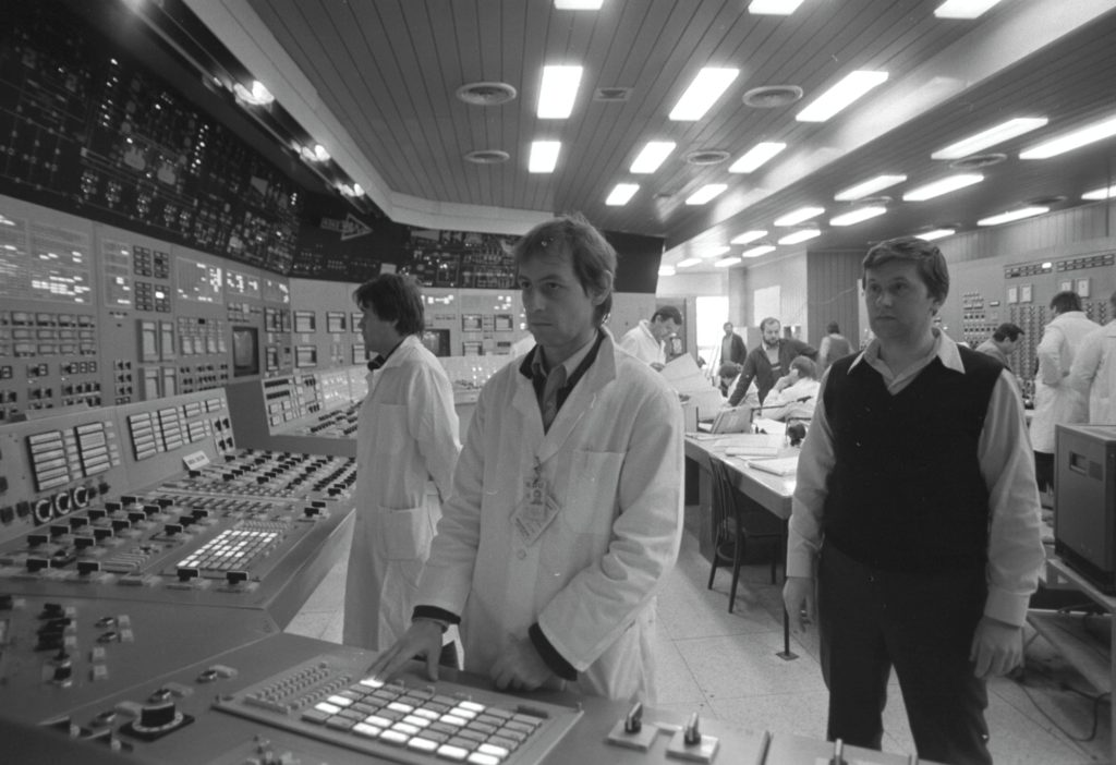Velín JE Dukovany v roce 1985. (Zdroj: JE Dukovany)