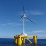 Větrné turbíny vyplouvají na hluboké moře