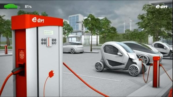 jaderná energie - Solární nabíječky – slibná cesta k rozvoji elektromobility - Zprávy (smart grids video) 2