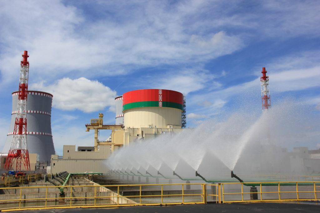 jaderná energie - Rosatom v Bělorusku spouští jadernou elektrárnu, do projektu se zapojily i české firmy - Nové bloky ve světě (Zkoušky bazénů rozstřiku v Běloruské JE) 2