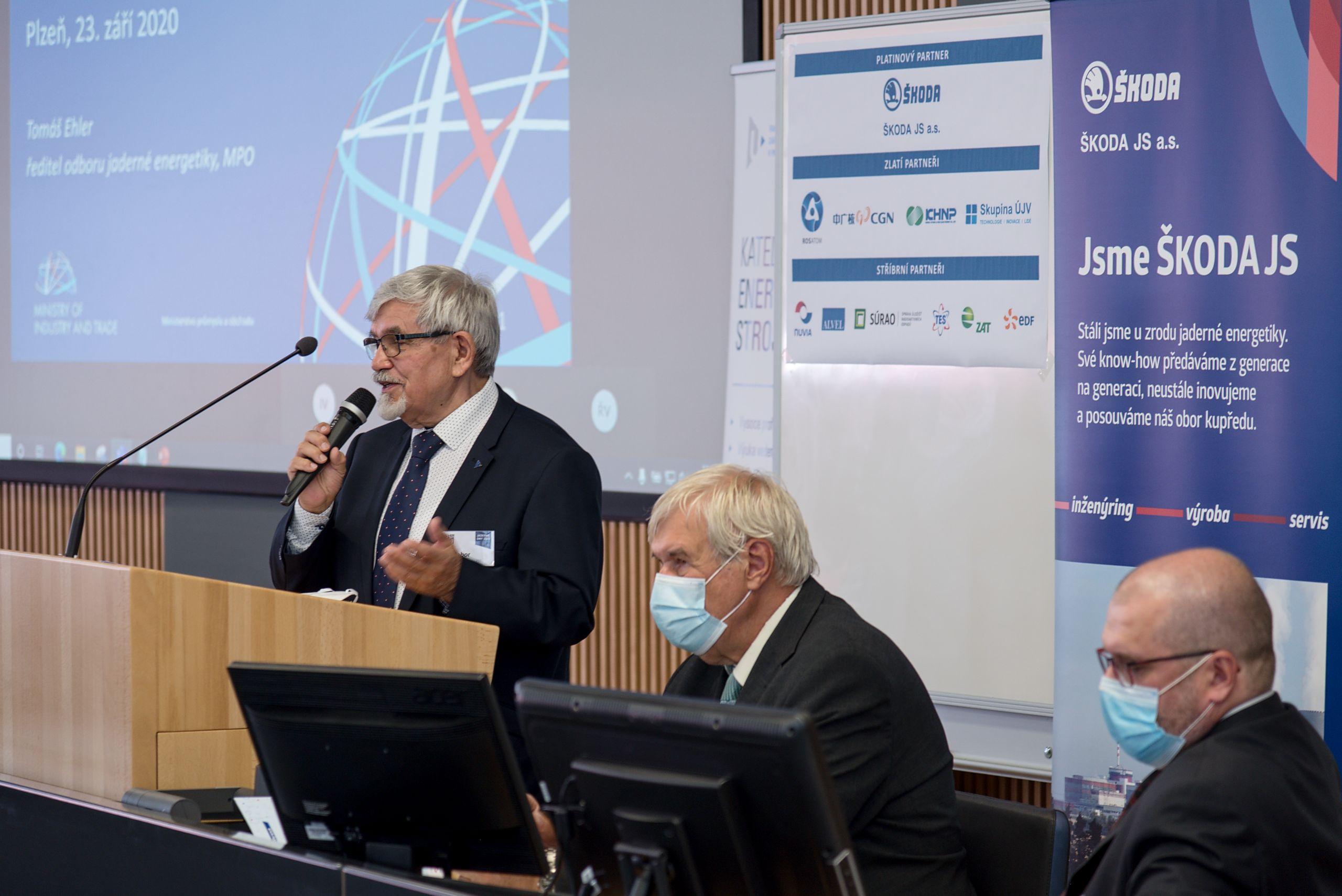 jaderná energie - Jaderné dny 2020: Krátce před očekávaným vyhlášením tendru se mění nabízené projekty - Nové bloky v ČR (DSC 8628) 2