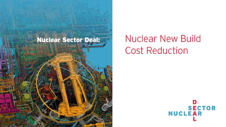 jaderná energie - Nová britská studie: jak stavět jádro levněji - Nové bloky ve světě (Nuclear Sector Deal report) 1