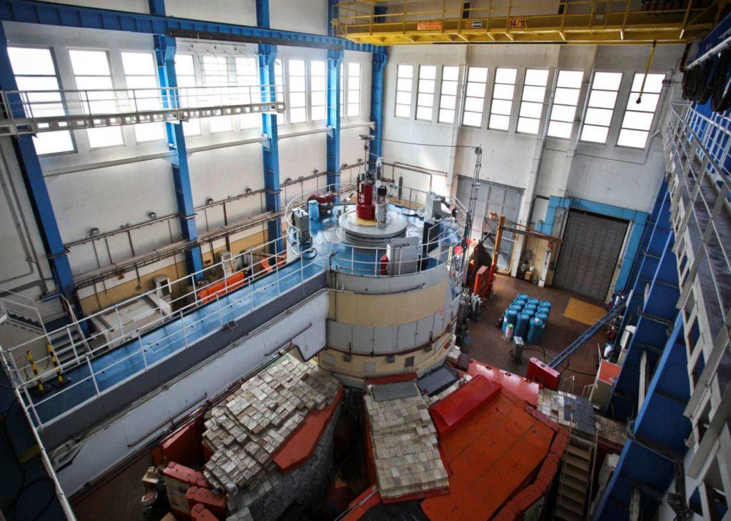 jaderná energie - TVEL dodal do Maďarska jaderné palivo pro výzkumný reaktor - Palivový cyklus (brr reactor hall) 1