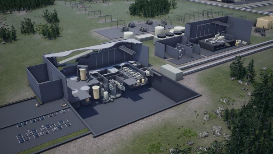 jaderná energie - Kanadská vláda zainvestuje do malých modulárních reaktorů - Inovativní reaktory (IMSR plant Terrestrial Energy) 3