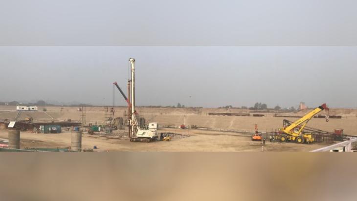 jaderná energie - Indický dozor dal zelenou prvnímu betonu v Gorkakhpuru - Nové bloky ve světě (Gorakhpur site work 2020 AERB 1) 1