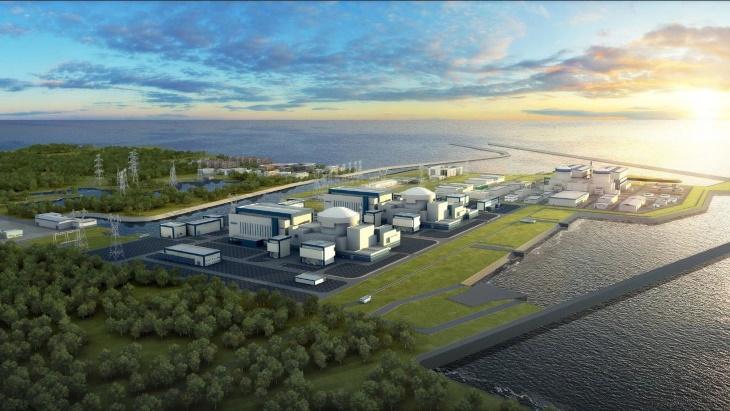 jaderná energie - Čínský reaktor Hualong One získal certifikaci pro Evropu - Nové bloky ve světě (Hualong One plant rendering CGN) 3