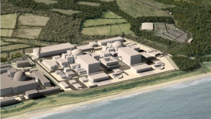 jaderná energie - EDF chce zachycovat CO2 v JE Sizewell C - Životní prostředí (Sizewell C EDF Energy) 2