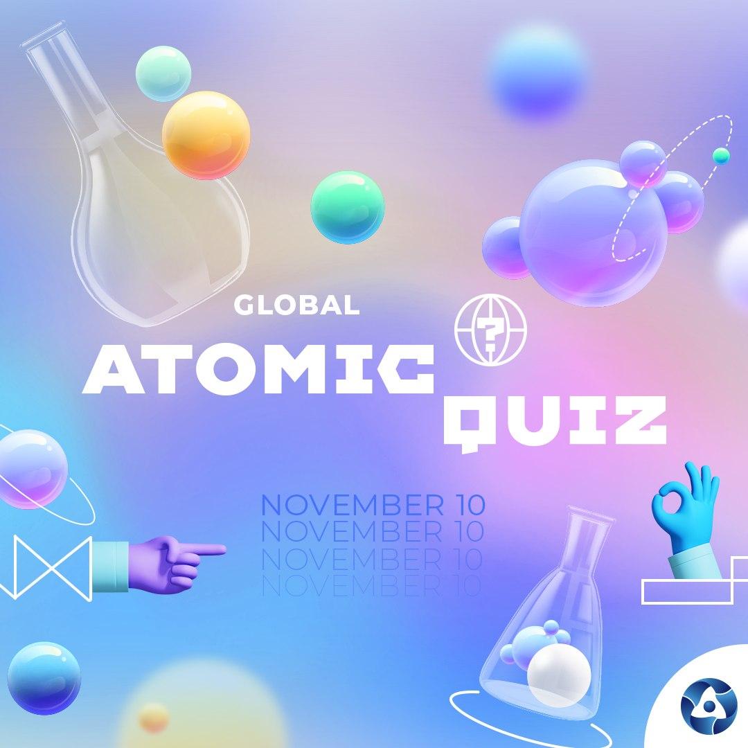 jaderná energie - Rosatom 10. listopadu spustí Global Atomic Quiz na oslavu světového dne vědy - Věda a jádro (eng) 4