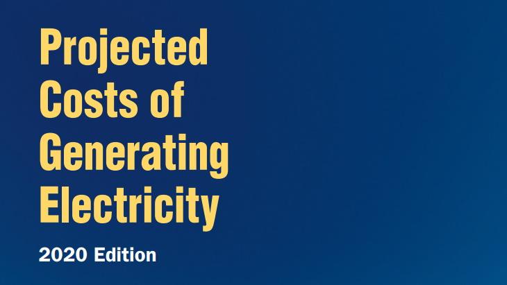 jaderná energie - Ceny jaderné elektřiny se daly na pokles, ukazuje studie - Životní prostředí (Projected Costs of Generating Electricity 2020 IEA NEA) 1