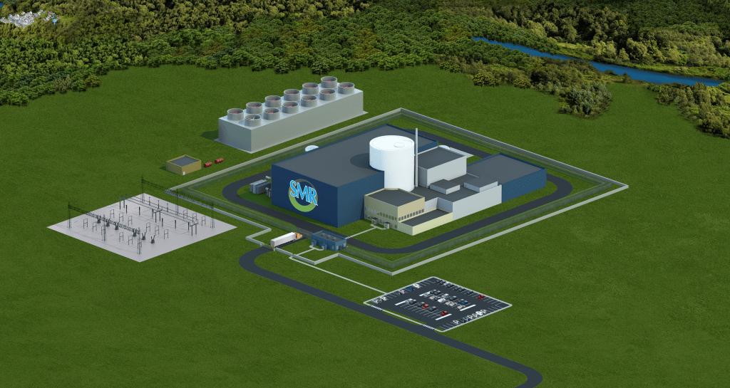 jaderná energie - Americký Holtec získal státní grant na vývoj SMR-160 - Inovativní reaktory (SMR CM RENDER New 2020) 3