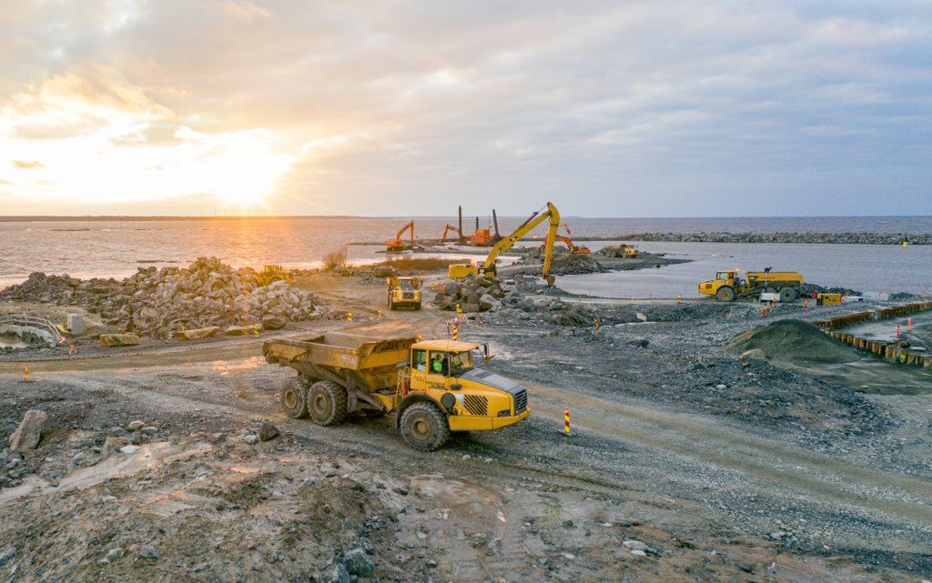 jaderná energie - Projektová dokumentace JE Hanhikivi byla předána zákazníkovi - Nové bloky ve světě (Stavební práce v lokalitě Hanhikivi v prosinci 2020 Zdroj Fennovoima) 1