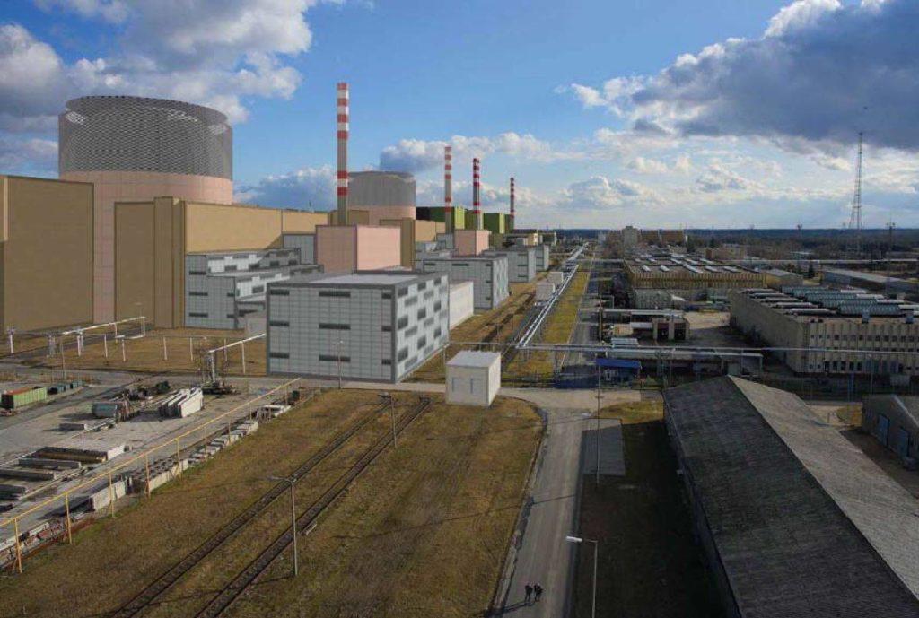 jaderná energie - Stavební povolení pro dva nové bloky JE Paks II má být vydáno na podzim 2021 - Nové bloky ve světě (Vizualizace nových bloků v JE Paks II 1) 1
