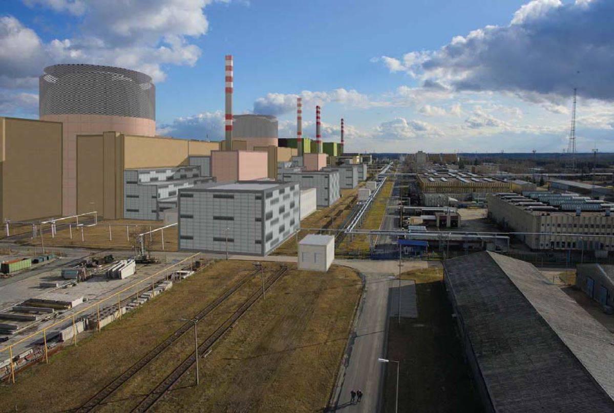 jaderná energie - Stavební povolení pro dva nové bloky JE Paks II má být vydáno na podzim 2021 - Nové bloky ve světě (Vizualizace nových bloků v JE Paks II 1) 2