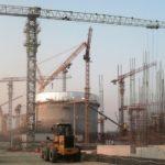 V JE Rooppur bylo dokončeno betonování válcové části kontejnmentu
