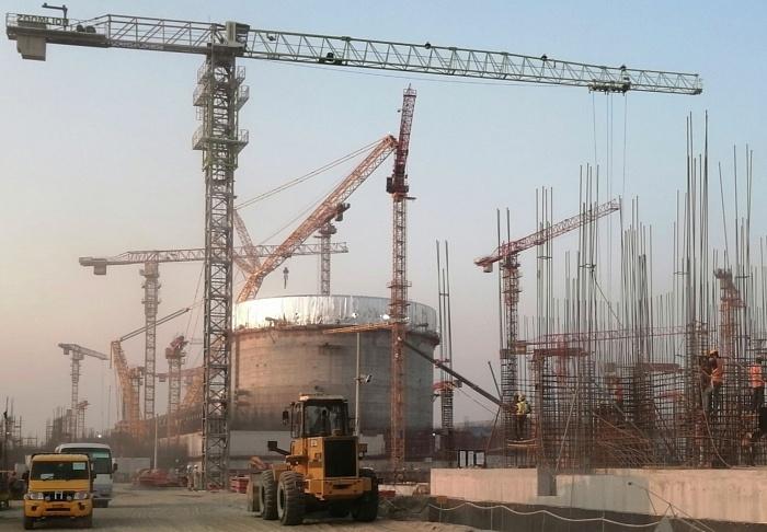 jaderná energie - V JE Rooppur bylo dokončeno betonování válcové části kontejnmentu - Nové bloky ve světě (ruppur nov2020) 1