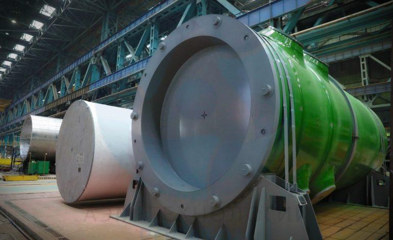 jaderná energie - Atommaš dokončil přípravu reaktoru VVER-TOI k odeslání - Nové bloky ve světě (vver toi kursk gotov k otgruzke atommash aem technjlogy5) 1