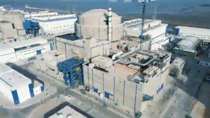 5. blok JE Fu-čching s reaktorem Hualong One (HPR-1000), CNNC, Čína