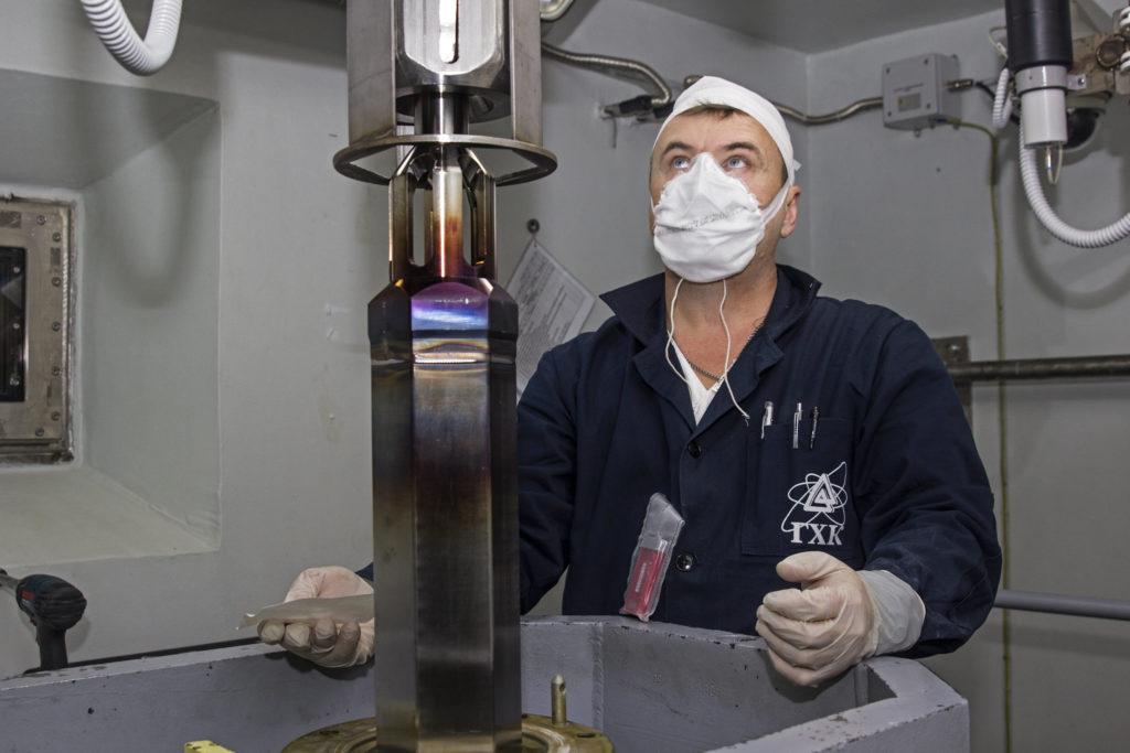 Výroba paliva MOX pro BN-800 v podniku GCHK