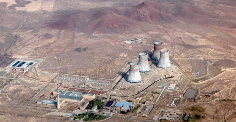 jaderná energie - Provoz Arménské jaderné elektrárny má být prodloužen do roku 2036, pomáhají s tím i české firmy - Ve světě (Armenska jaderna elektrarna Zdroj AAEK) 1
