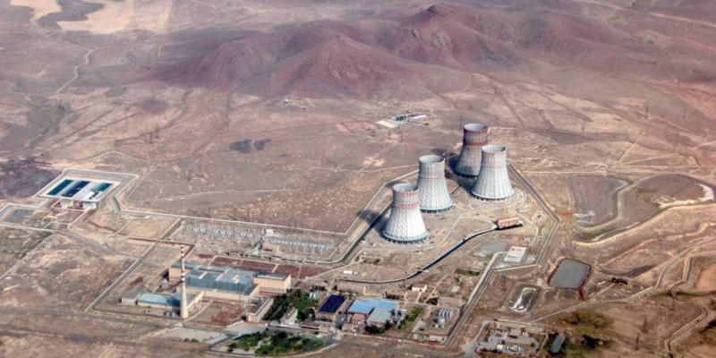 Arménie, jaderná elektrárna.