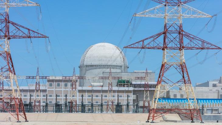 Druhý blok jaderné elektrárny Barakah. (Zdroj: ENEC)