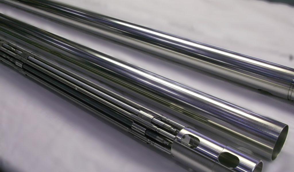 Experimentální palivové proutky tolerantního paliva. (Zdroj: Rosatom)
