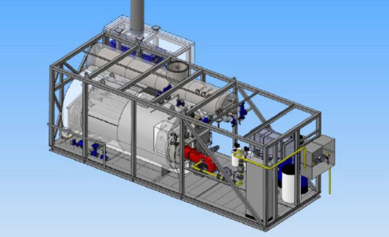jaderná energie - Finské Hanhikivi bude vybavené českými kotelnami od společnosti MICo - V Česku (Model parni kotelny) 1