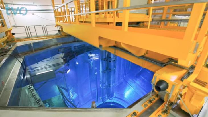 jaderná energie - Ve finském Olkiluoto zavážejí palivo - Nové bloky ve světě (OL3 fuel loading test run TVO) 1
