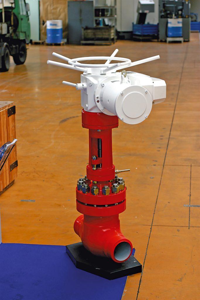 Servopohon MOA OC od společnosti ZPA Pečky vyrobený v České republice (Zdroj ZPA Pečky)