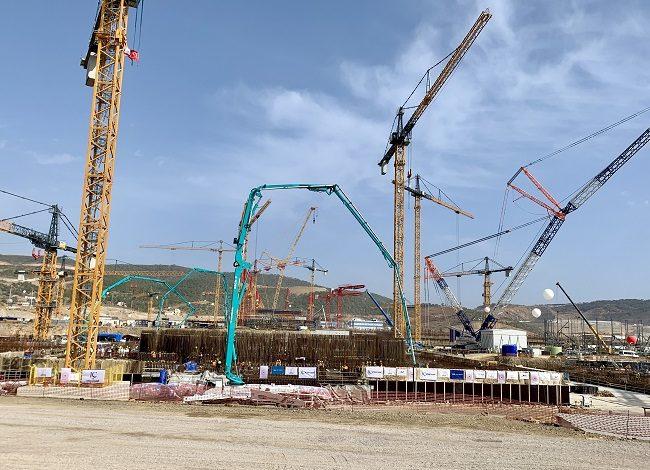 jaderná energie - Byla zahájena výstavba 3. bloku JE Akkuyu - Nové bloky ve světě (Zahajeni betonaze zakladu tretiho bloku JE Akkuyu) 2