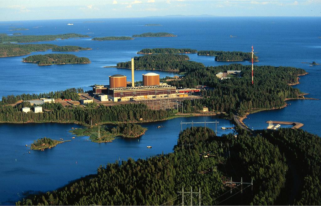 Jaderná elektrárna Loviisa se dvěma bloky VVER-440. (Zdroj: Fortum)